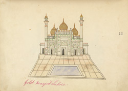 Golden Mosque, Lahore 1409